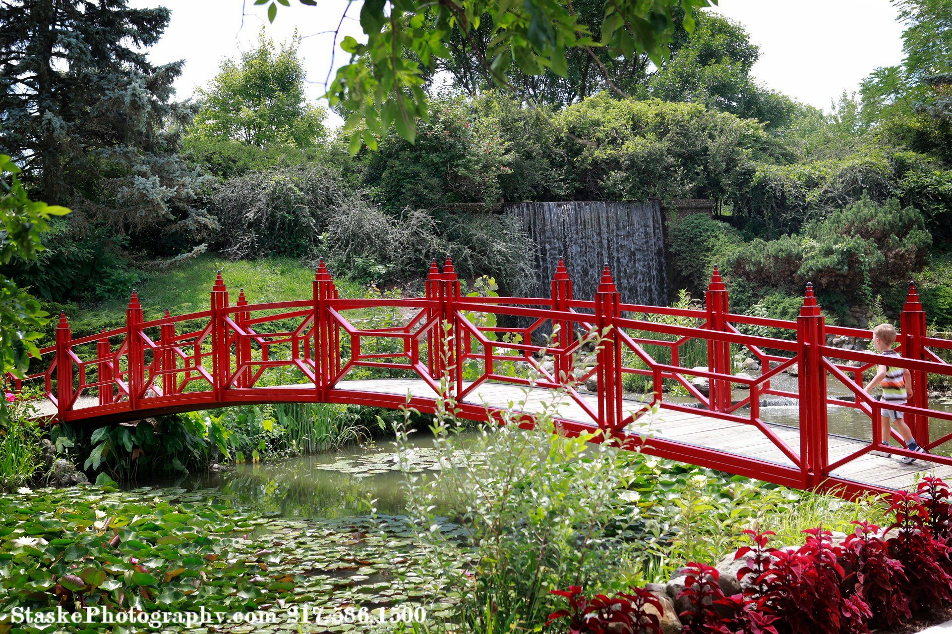 Botanical Gardens at Lake of the Woods Park – Mahomet, IL